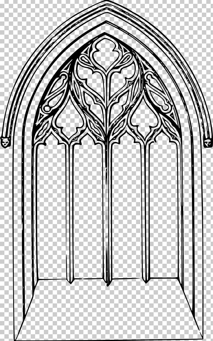 Church Window PNG, Clipart, Arch, Architecture, Area, Art, Black And.