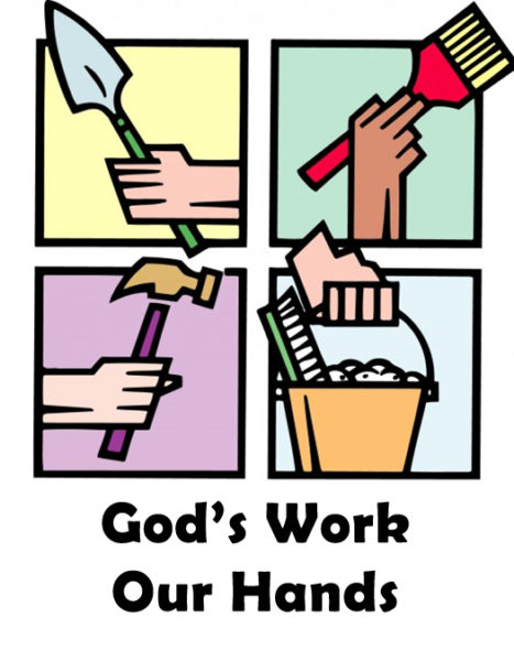 Church work day clipart 2 » Clipart Station.