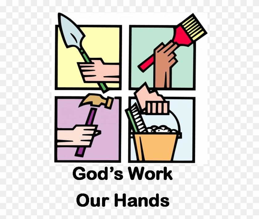 Church Work Day Icon.
