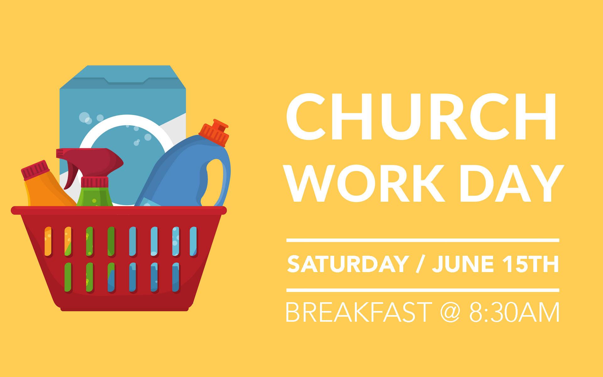 Church Workday.
