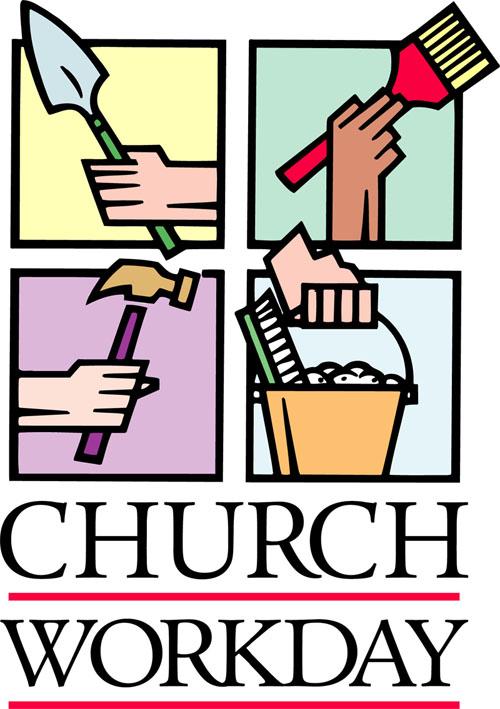 Church Work Day Clip Art N2 free image.