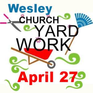 Church Yard Work.