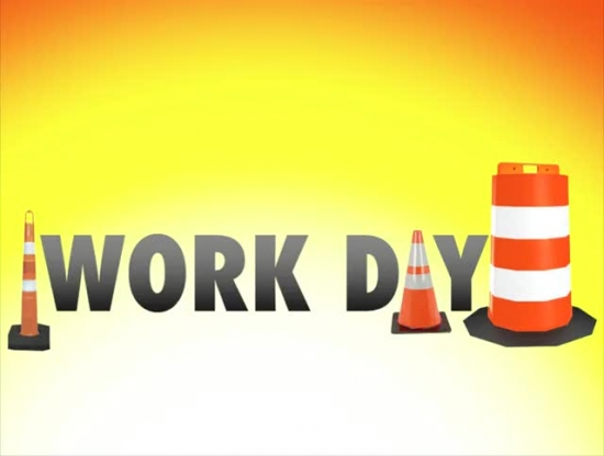 Church Work Day.