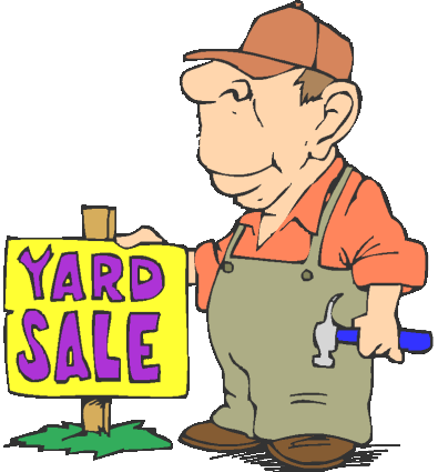 Free Church Yard Sale And Bake Sale Signs.