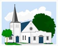 Free Churches Clipart.