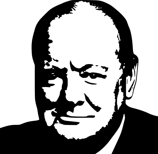 Churchill clipart.