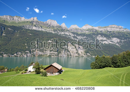 Walensee Stock Photos, Royalty.
