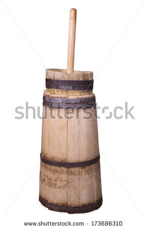 Wooden Churn Stock Photos, Royalty.