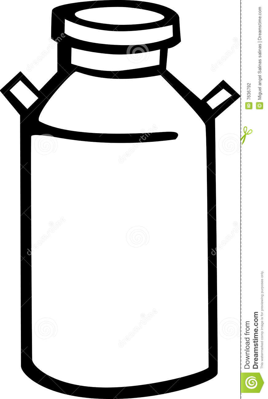 Milk churn clipart.