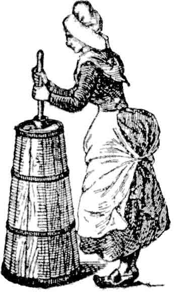 History for Children: FREE FRIDAY! —butter churning clip art—.