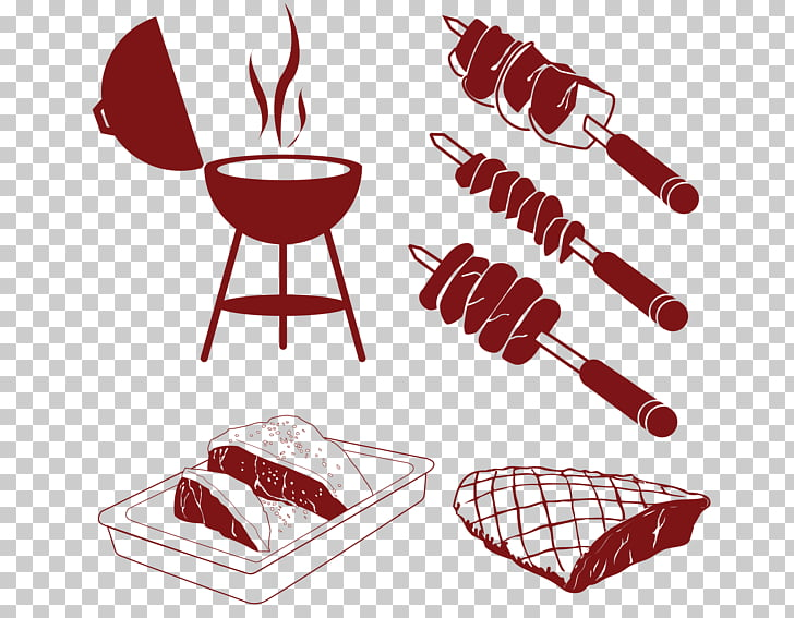 Barbecue Churrasco Beer , grilled beef steak PNG clipart.
