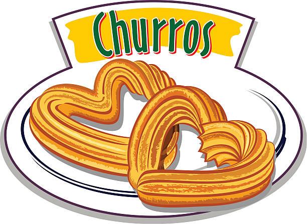 Best Churro Illustrations, Royalty.
