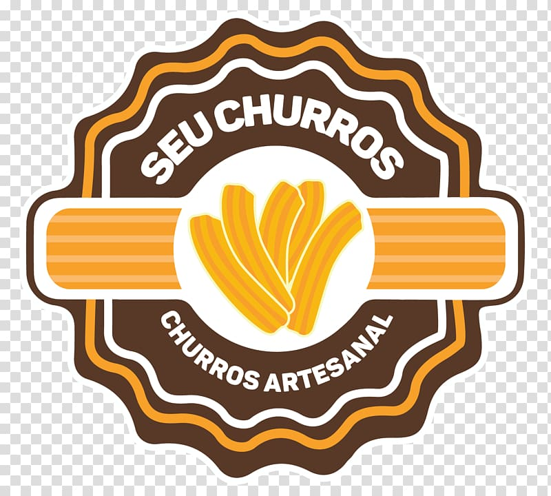 Churro Brigadeiro Food Churreria Logo, churros transparent.