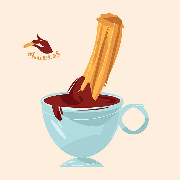 Best Churro Illustrations, Royalty.