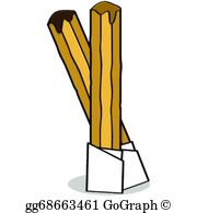 Churros Clip Art.