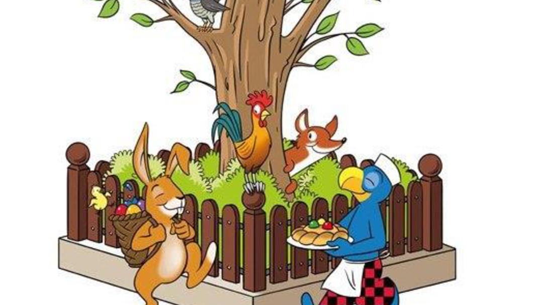 Easter with Globi : Lenzerheide.
