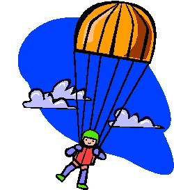 Parachute Game Clipart.
