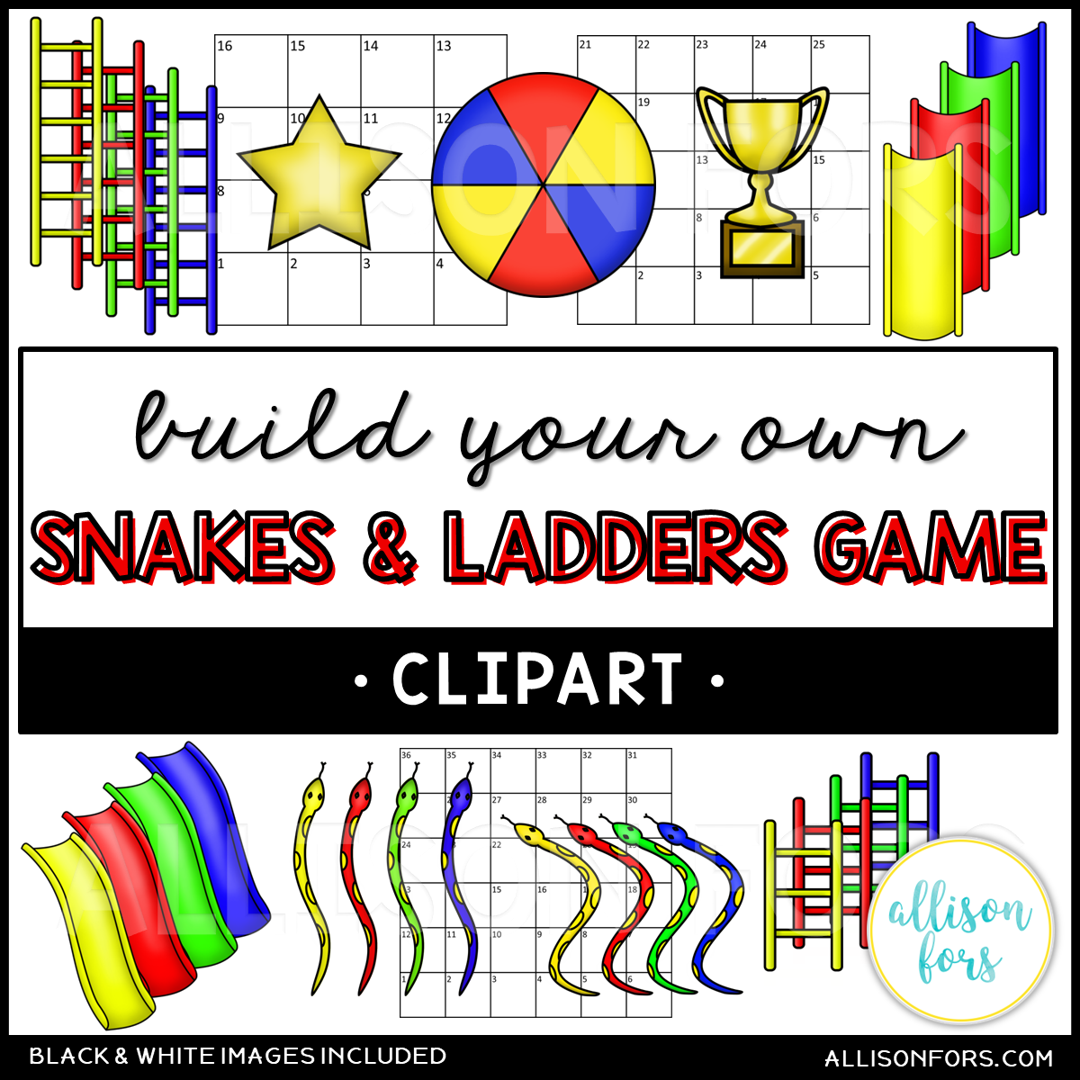 Build Your Own: Snakes and Ladders Board Game.