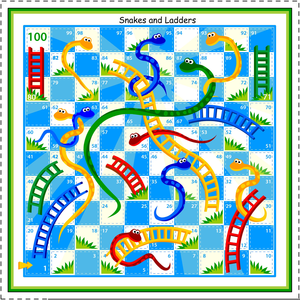 Chutes And Ladders Clipart.
