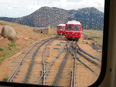 Train, Tracks, Nature, Landscapes.