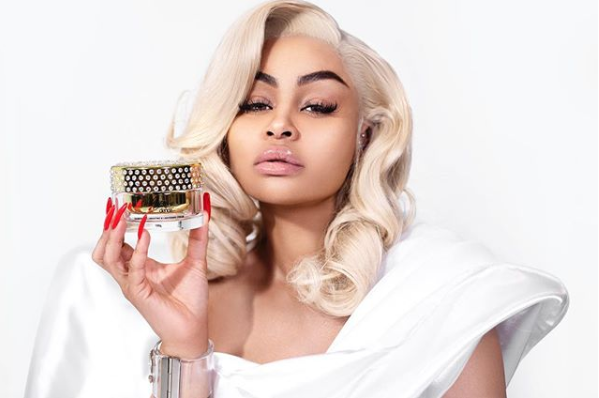 Blac Chyna criticised for promoting skin lightening cream.