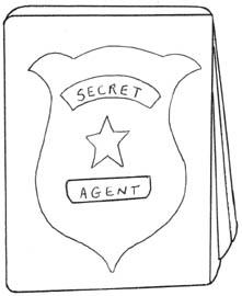 Cia Undercover Agent Clipart.