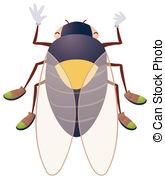 Cicada Illustrations and Stock Art. 190 Cicada illustration and.