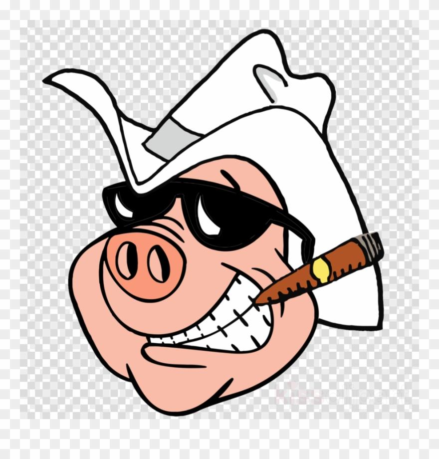 Cigar Pig Clipart Cigar Wild Boar Clip Art.