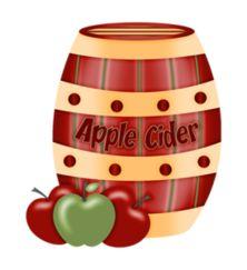 Apple Cider Clipart.