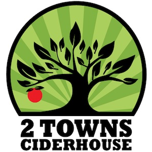 The Seriously Fun Ciders of 2 Towns Ciderhouse.