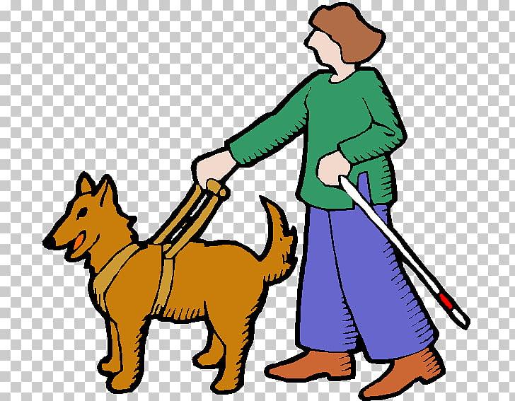 Perro guía ceguera animaatio, ciego PNG Clipart.