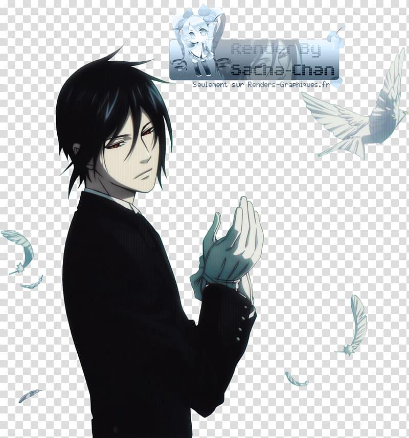 Sebastian Michaelis Ciel Phantomhive Black Butler.