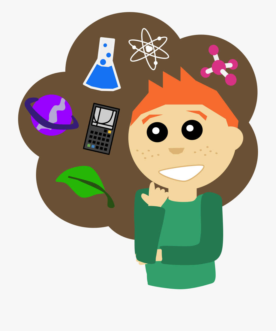 Woman Clipart Science.