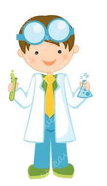 Resultado de imagen para girl scientist clipart.