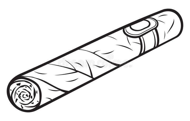 Cigar Stock Illustrations.
