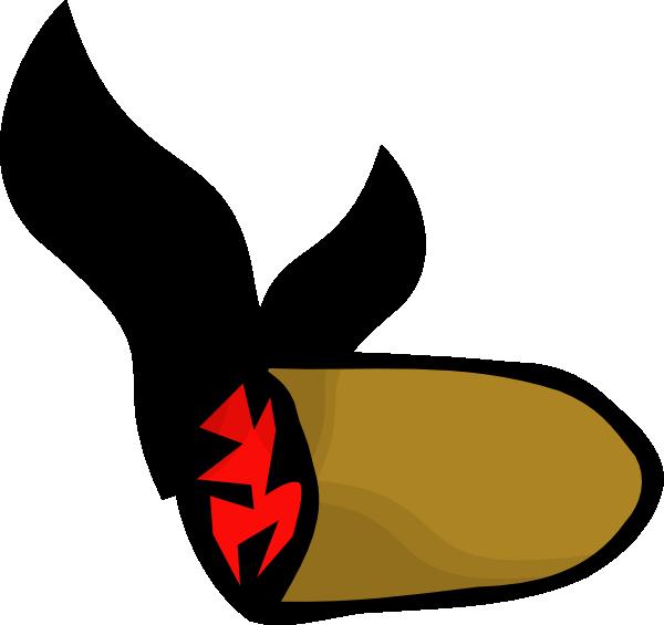 Smoke Cigar Stub clip art (116037) Free SVG Download / 4 Vector.