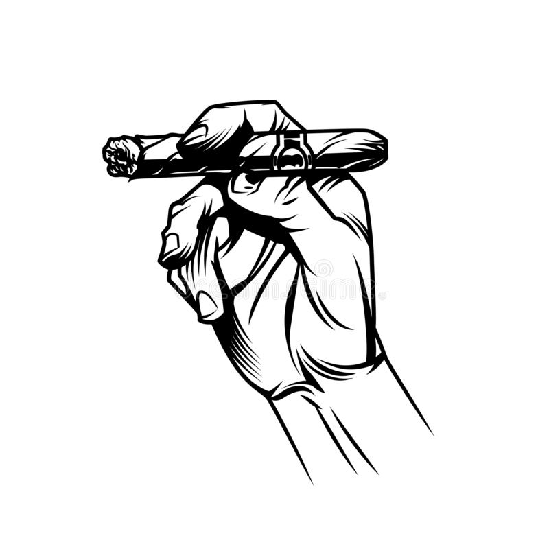 Cigar Stock Illustrations.