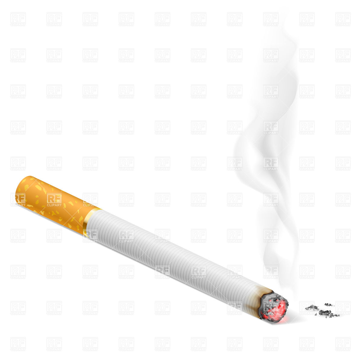 Clothes Of Cigarette Smoke In Clipart.