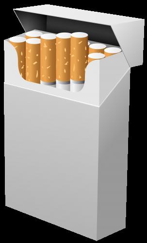 Cigarette Box PNG Clipart.