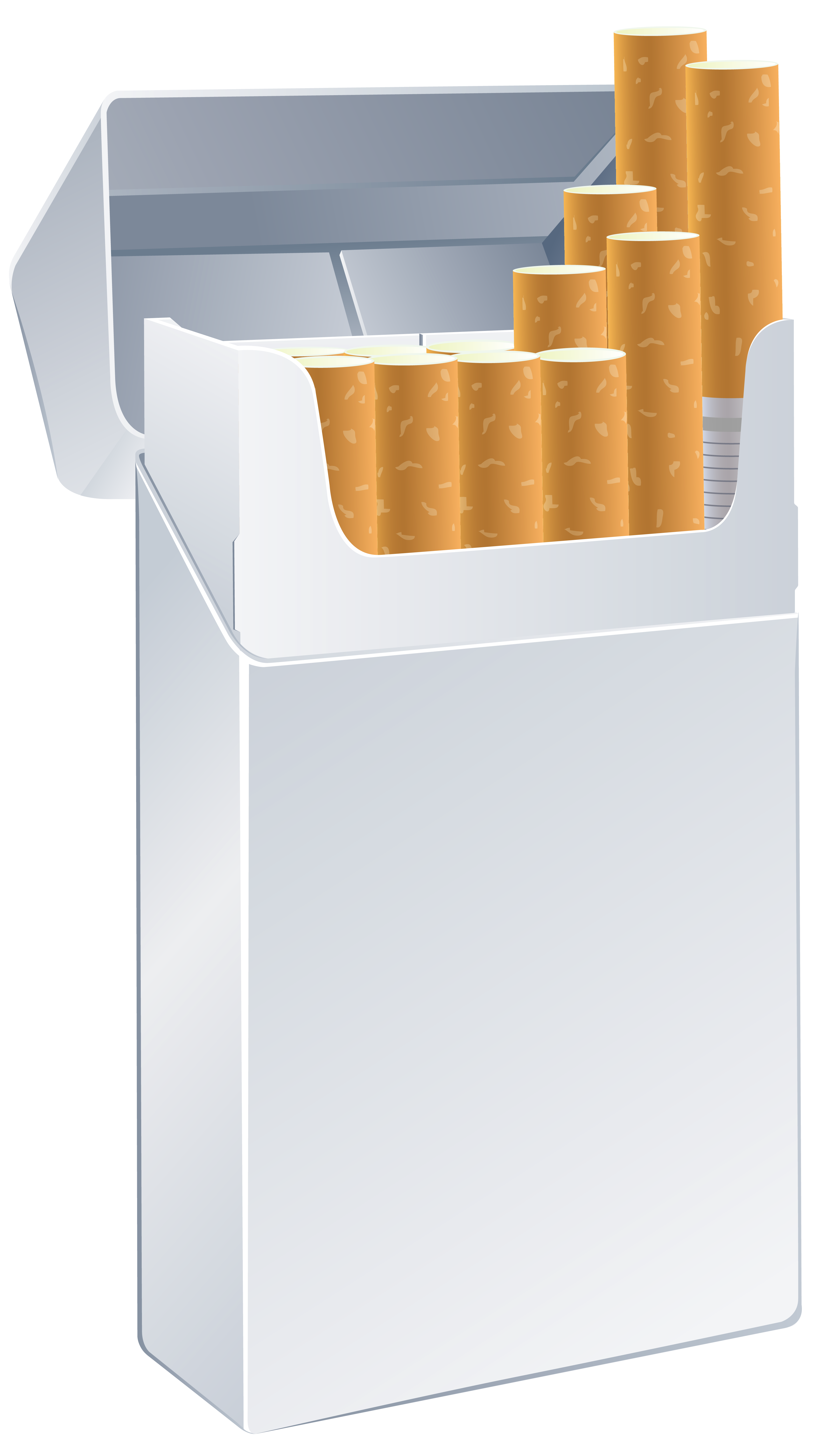 Cigarette Box Template PNG Clipart.