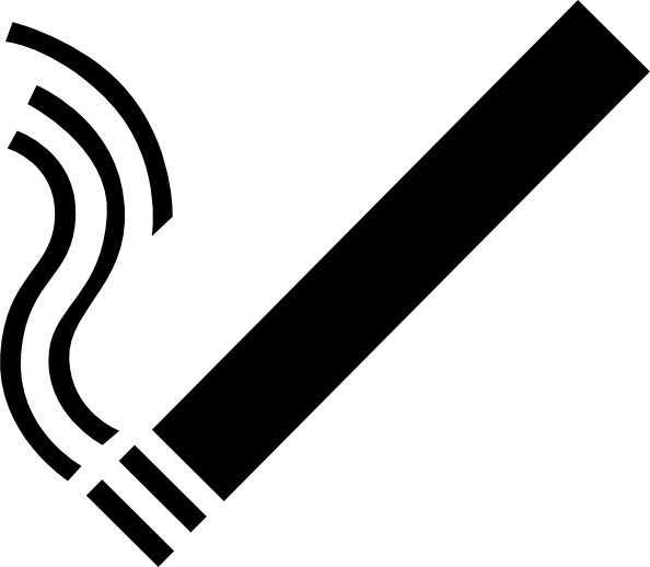 Cigarette clip art Free vector in Open office drawing svg ( .svg.