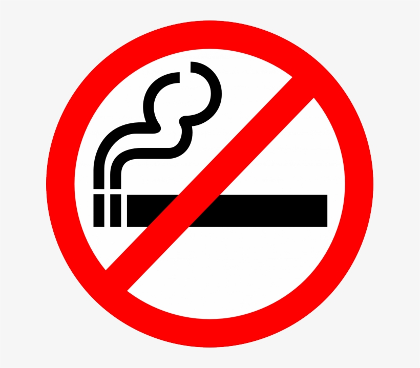 Smoking And Burning Cigarette Royalty Free Vector Clip.