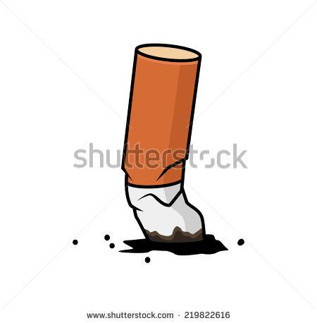 Cigarette End Stock Photos, Royalty.