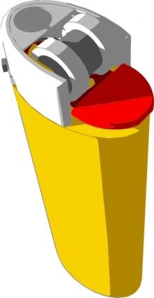 Clip Art Cigarette Lighter.
