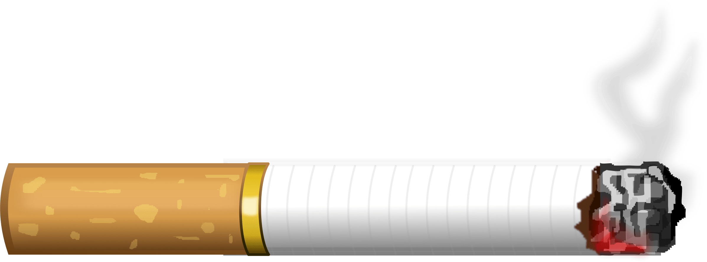 Thug Life Cigarette Smoking transparent PNG.