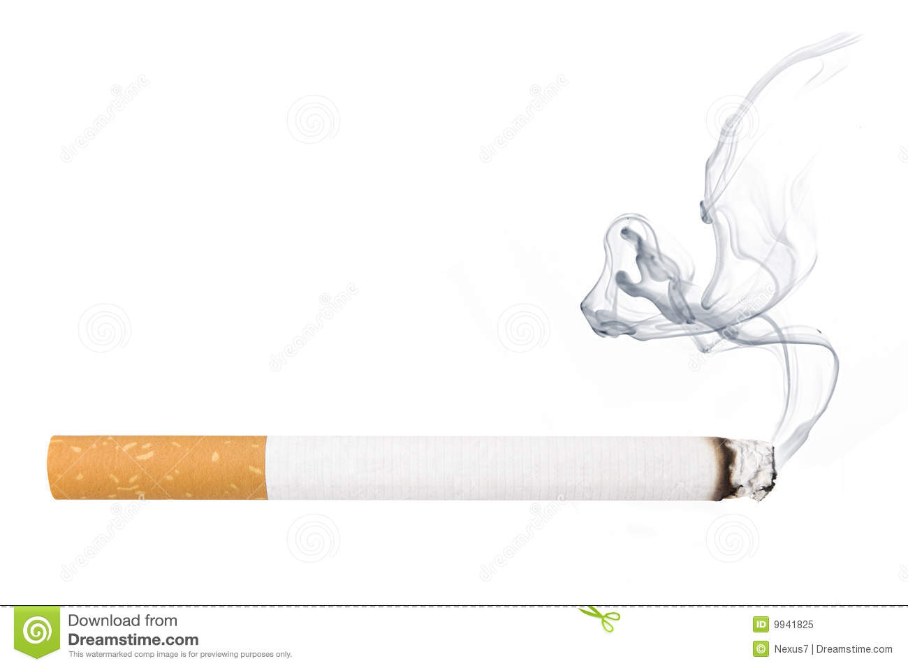 Cigarette Smoke Clipart.