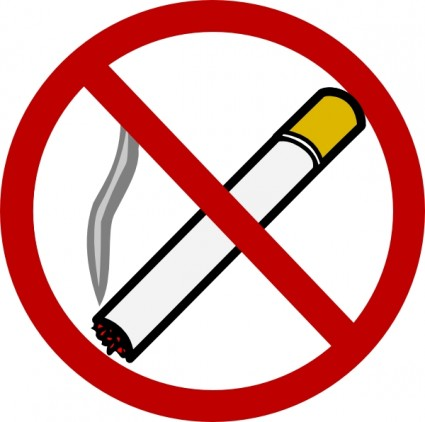 Free clipart cigarette smoking.