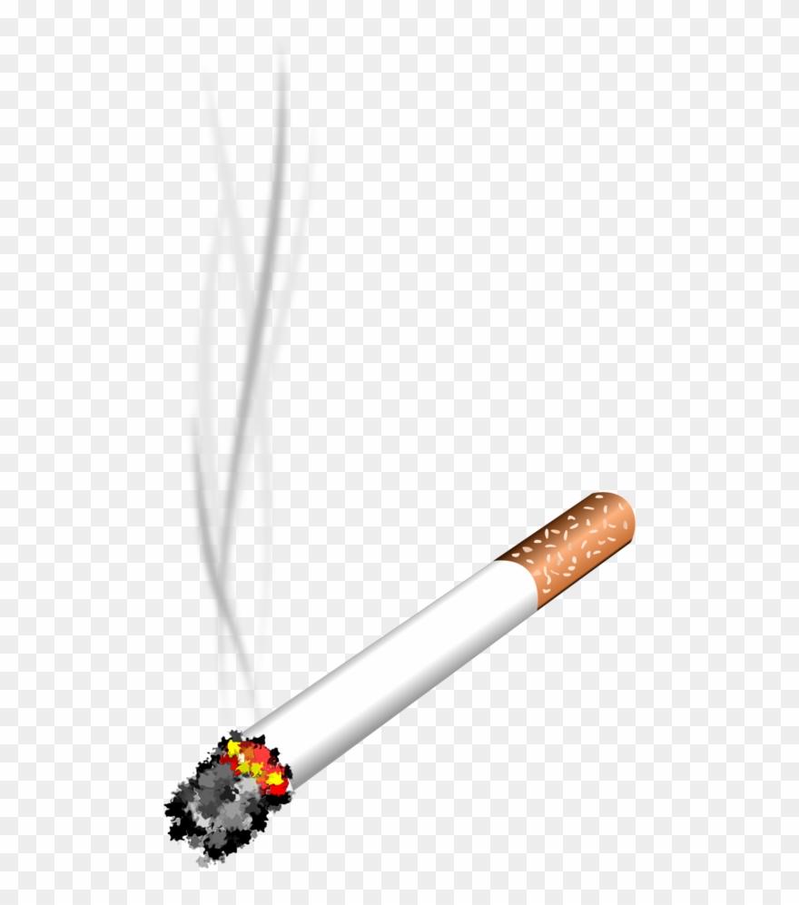 Vector Royalty Free Cigarette Smoke Clipart.