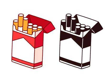 414 Cigarette Packet Cliparts, Stock Vector And Royalty Free.