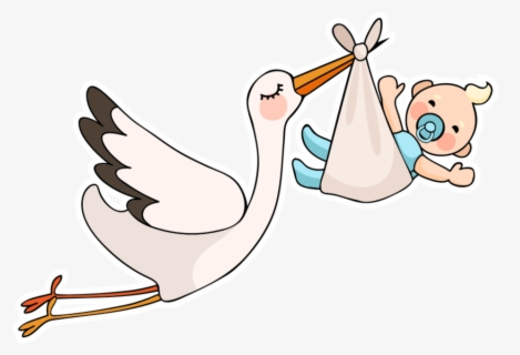 Free Baby Stork Clip Art with No Background , Page 2.